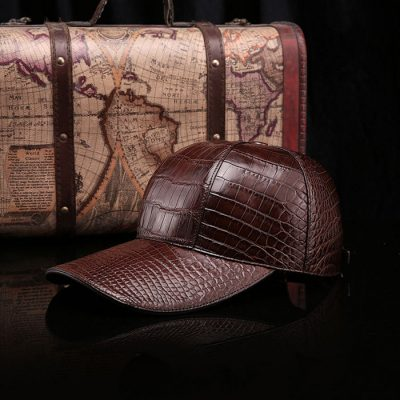 Alligator Skin Hat Baseball Cap
