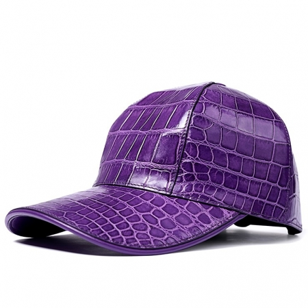 Alligator Skin Hat Baseball Cap for Women