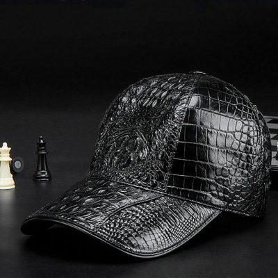 Alligator Skin Hat, Crocodile Skin Hat