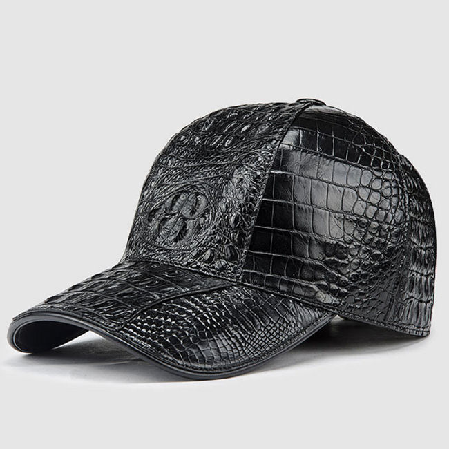Alligator Skin Hat from BRUCEGAO
