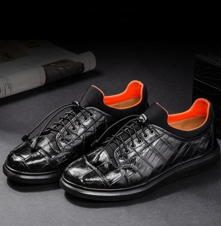 Alligator Sneaker, Luxury Alligator Sneaker for Men