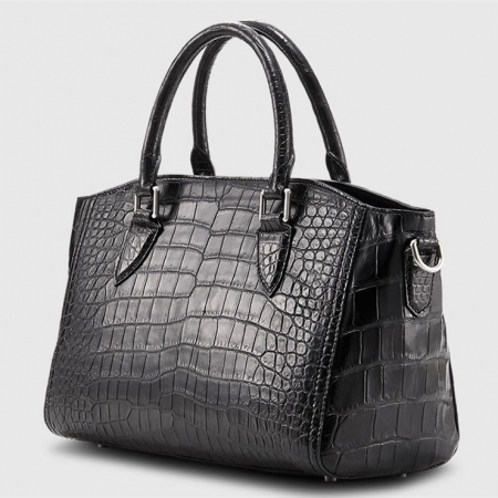 Casual Alligator Leather Tote Shoulder Handbag for Women-1