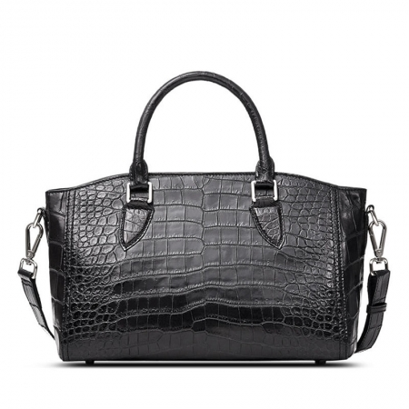 Casual Alligator Leather Tote Shoulder Handbag for Women