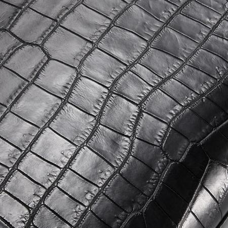 Casual Alligator Leather Tote Shoulder Handbag for Women-Alligator Skin