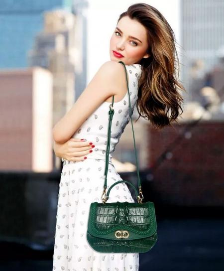 Chic and Stylish Crocodile Handbag, Crocodile Purse-2