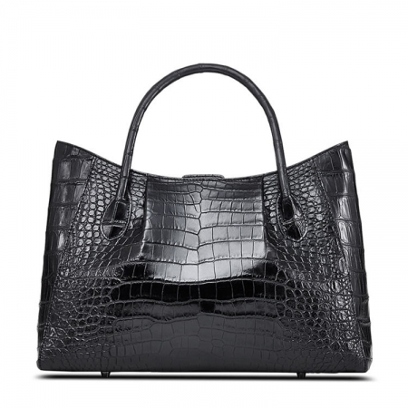 Classic Alligator Skin Tote Shoulder Handbag Shopping Travel Carry on Purse Bag