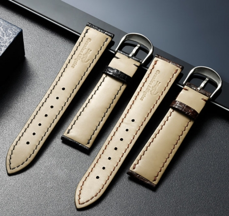 Crocodile & Alligator Skin Apple Watch Band-Details