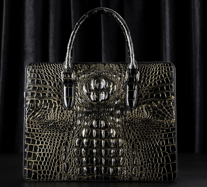Crocodile Skin Attaches Bag