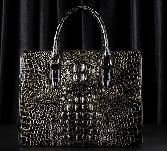 Crocodile Skin Attaches Bag