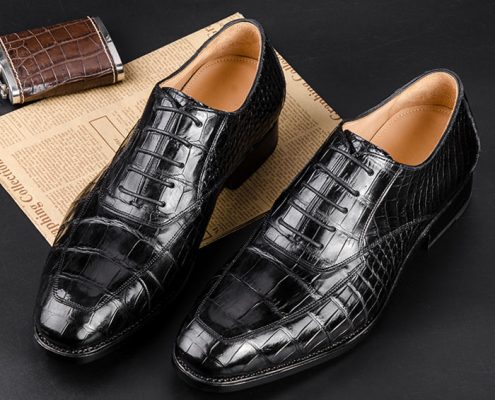 Crocodile Skin Shoes for Him