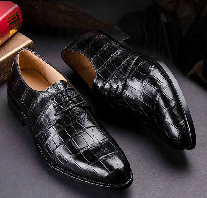 Crocodile Skin Shoes for Valentine's Day