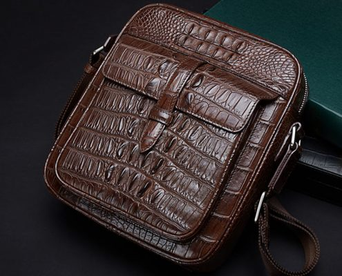 Crocodile and Alligator Skin Mail Bag