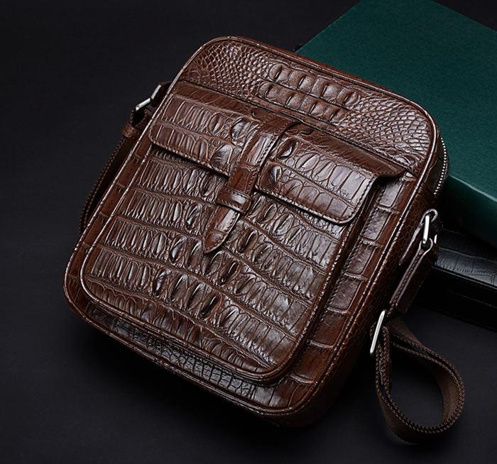 Crocodile and Alligator Skin Mail Bag