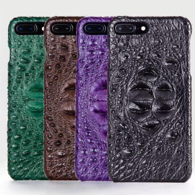 Crocodile and Alligator Skin iPhone 8 Plus Case