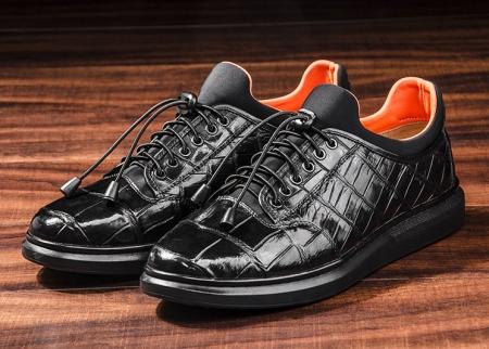 Fashion Alligator Sneaker, Luxury Alligator Sneaker for Men-1