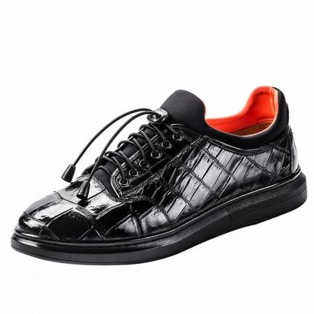 Fashion Alligator Sneaker, Luxury Alligator Sneaker for Men