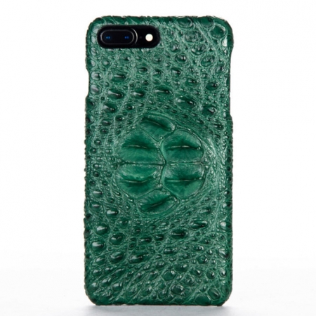 Green-Crocodile Head Skin iPhone 8 Plus Case