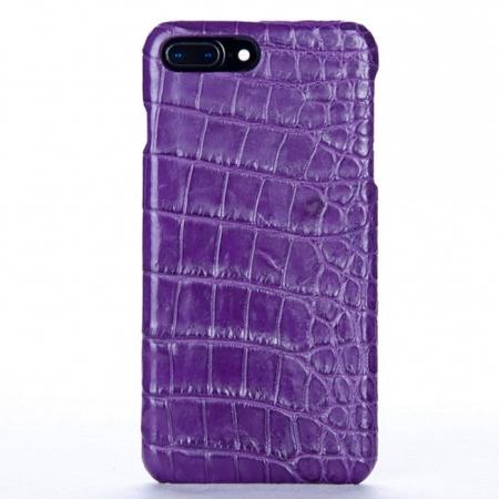 Purple-Crocodile Belly Skin iPhone 8 Plus Case