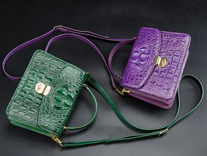 Valentine's Day gift for her - Alligator Purse
