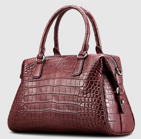 Women Casual Alligator Handbag, Fashion Top Handle Bag Cross body Shoulder Bag-1