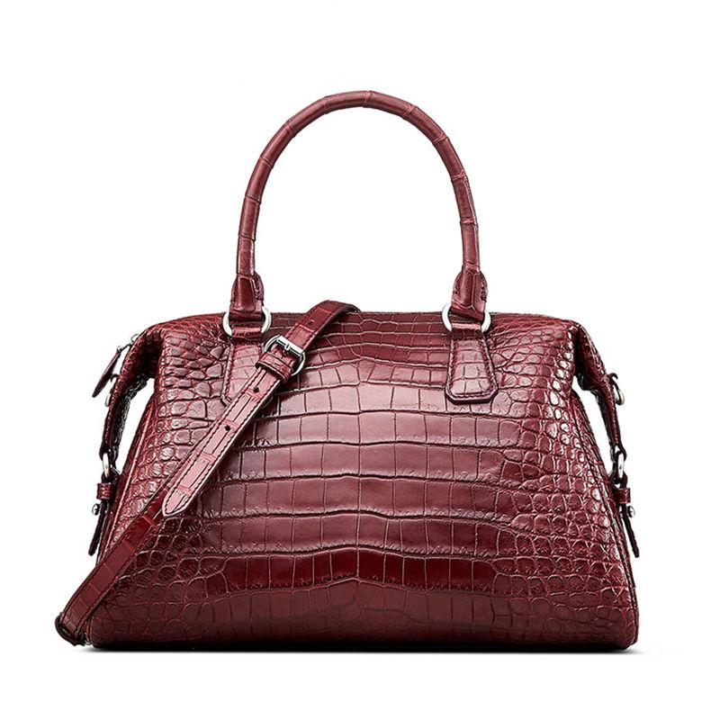 Women Casual Alligator Handbag, Fashion Top Handle Bag Cross body Shoulder Bag
