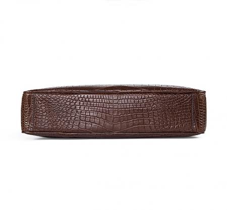 Alligator Business Bag, Alligator Leather Briefcase-Bottom
