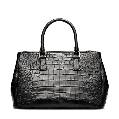 Alligator Leather Handbag Tote Shoulder Bag