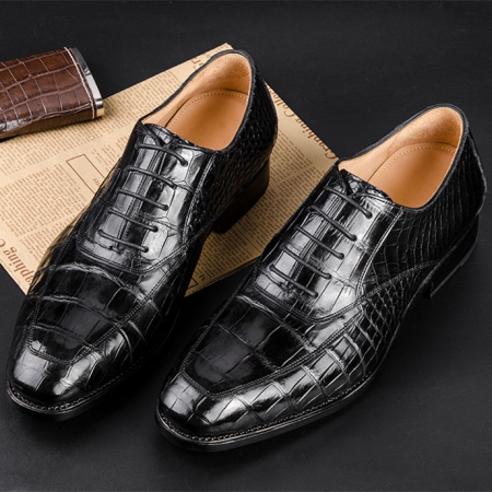 Business Alligator Leather Shoes