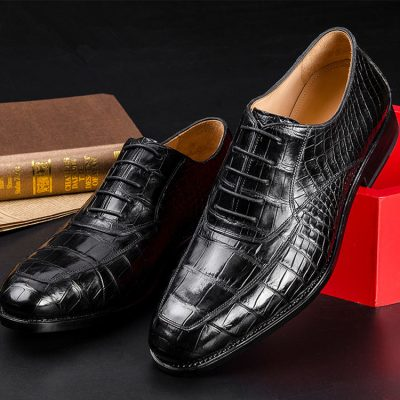 Business Alligator Leather Shoes for Men