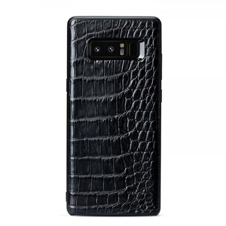 Crocodile Galaxy Note 9/8 Case, Alligator Galaxy Note 9/8 Case-Black
