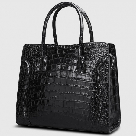 Designer Alligator Skin Handbag