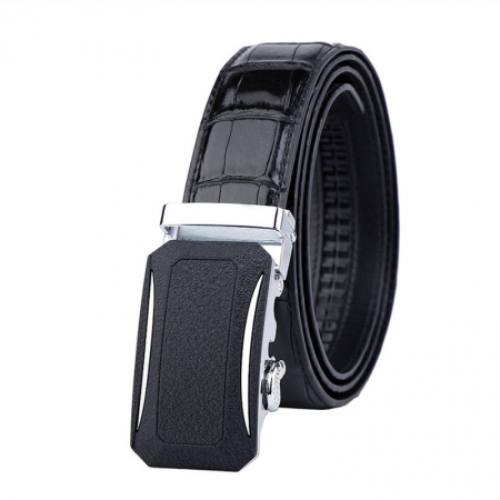Designer Genuine Alligator Leather Belt for Men