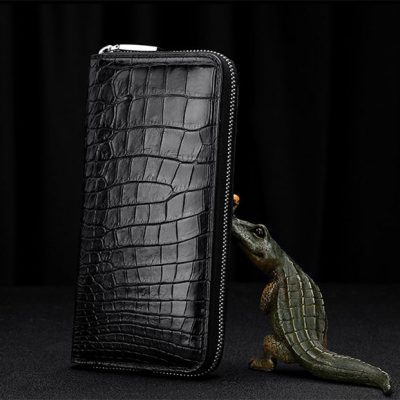 Genuine Alligator Leather Wallet for Men