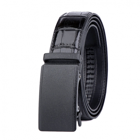 Genuine American Alligator Leather Dress Belt