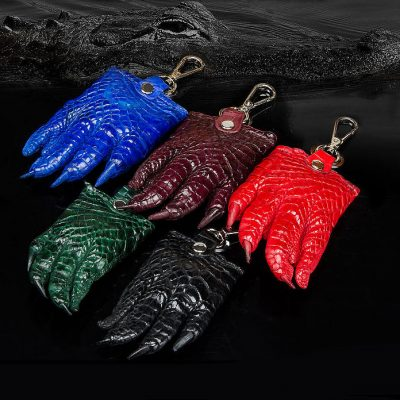 Genuine Crocodile Claw Keychain