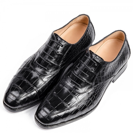 Luxury Alligator Leather Shoes
