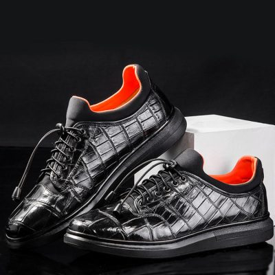 Luxury Alligator Leather Sneaker for Men