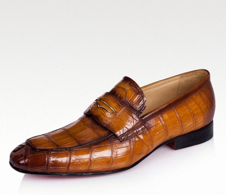 Luxury Alligator Slip-On Loafers