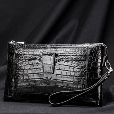 Men Alligator Clutch Wallet
