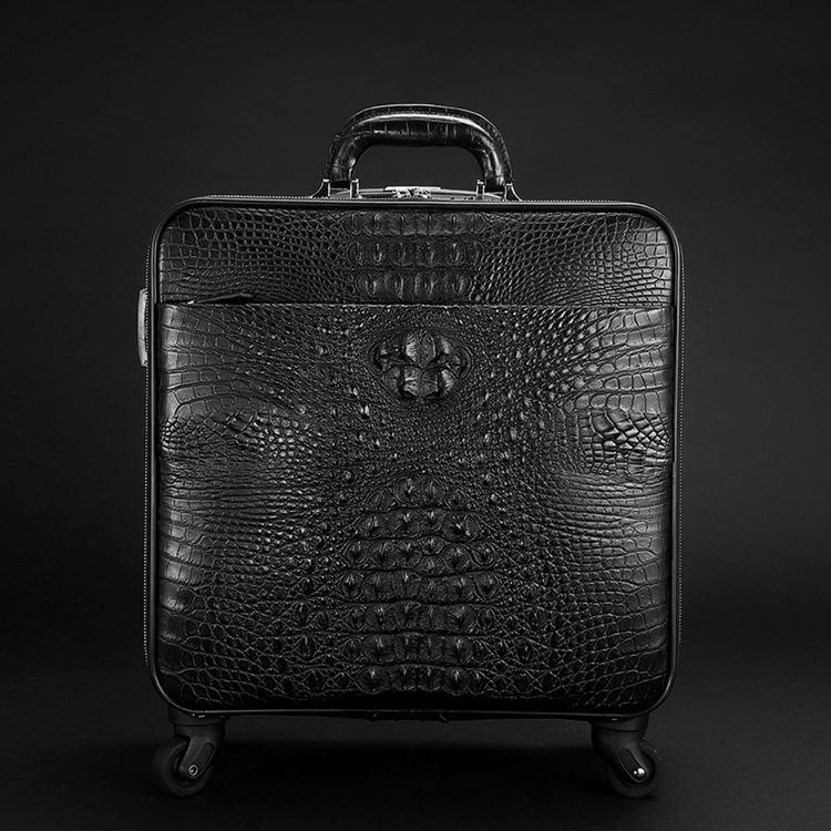Men's Alligator Leather Luggage