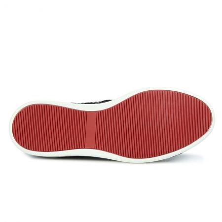Men's Daily Fashion Crocodile Skin Sneakers-Sole