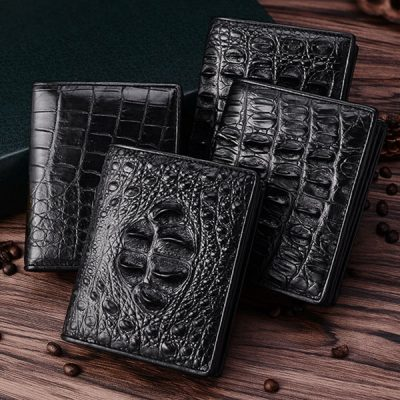 Premium Crocodile Bifold Wallets
