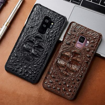 Samsung Galaxy S9+ Plus Crocodile and Alligator Leather Cases
