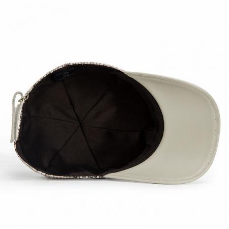 Snakeskin hat-Inside
