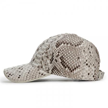 Snakeskin hat-White