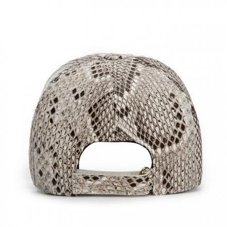 Snakeskin hat-White-Back