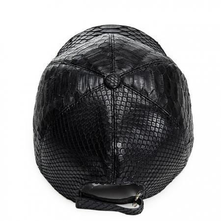 Snakeskin hat-White-Top