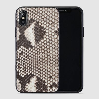 Luxury Snakeskin Case for iPhone X, Snakeskin iPhone X Cover Case