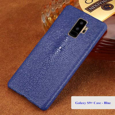 Stingray Skin Galaxy S9+ Plus Case-Blue