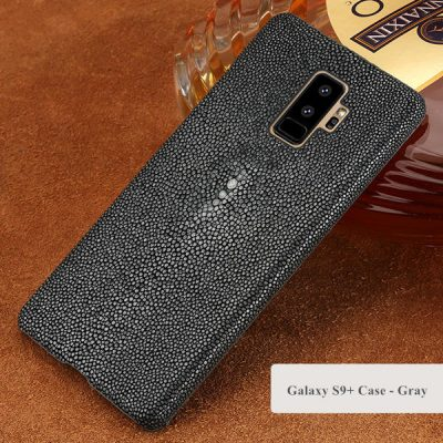 Stingray Skin Galaxy S9+ Plus Case-Gray